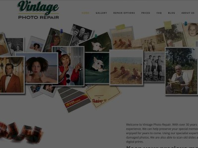 Portfolio Vintage Photo Feature